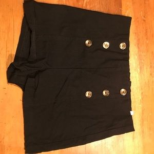 Charlotte Russe Black High Waisted Shorts